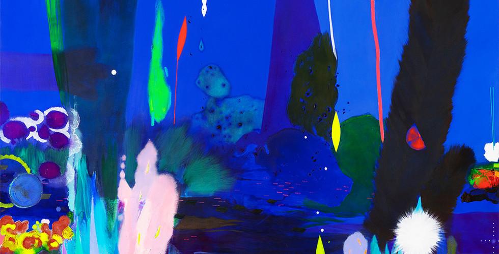 """0.T. (Ultramarin)"", Öl und Acryl auf Leinwand, 170 x 190 cm, 2020.jpg"