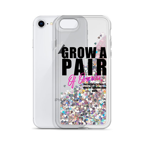 Liquid Glitter-Grow A Pair-Phone Case