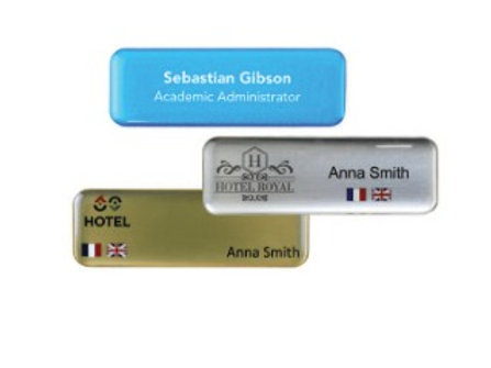 Acrylic domed name badges