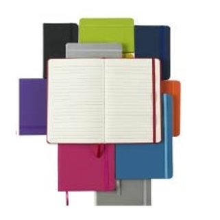 A5 Softfeel Notebook