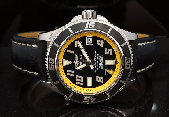 BREITLING 2010 SuperOcean 42, A17364, Automatic, 5000ft Water Resistant