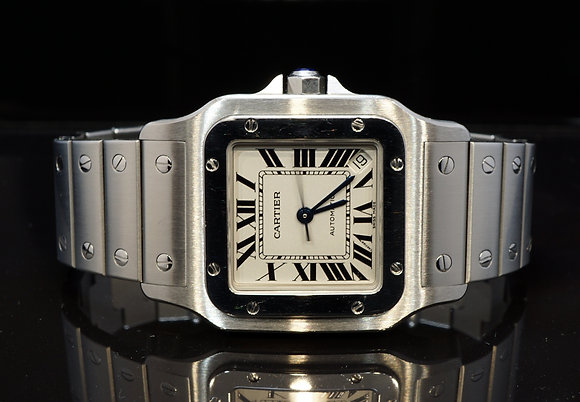 CARTIER Santos Galbee, W20098D6, Auto, MINT, with Papers