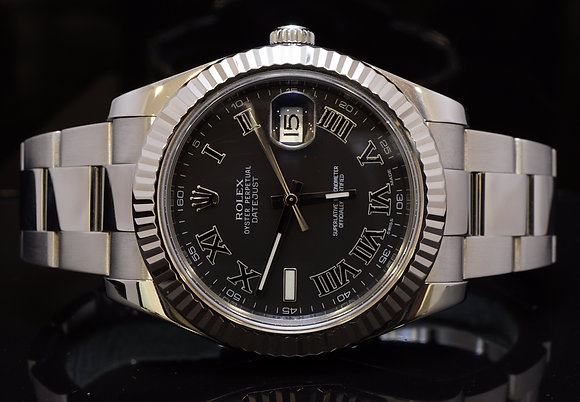 ROLEX 2014 Datejust 2,116334, Stainless Steel, Box and Papers. MINT