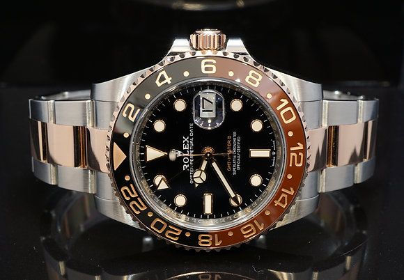 ROLEX 2018 GMT Master II, Rootbeer, 126711CHNR, Box & Papers