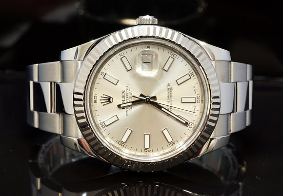ROLEX 2013 Datejust II, Steel, 116334, Box & Papers