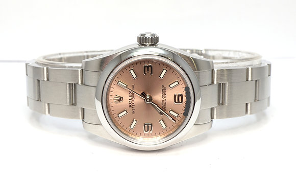 ROLEX 2018 Oyster Perpetual 26, 176200, Pink, MINT, Box & Papers