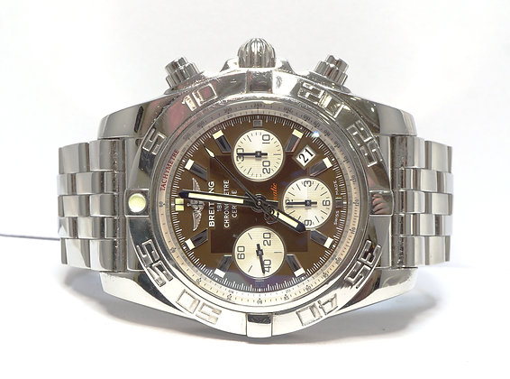 BREITLING Chronomat 44, AB0110, Steel, Automatic, Metalica Brown