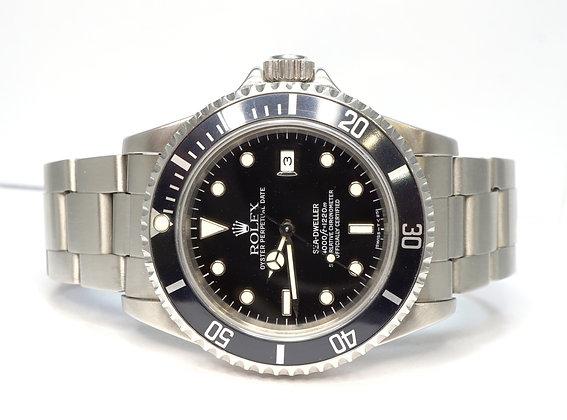 ROLEX 1994 Sea-Dweller, 16600, Tritium Dial, Box & Papers