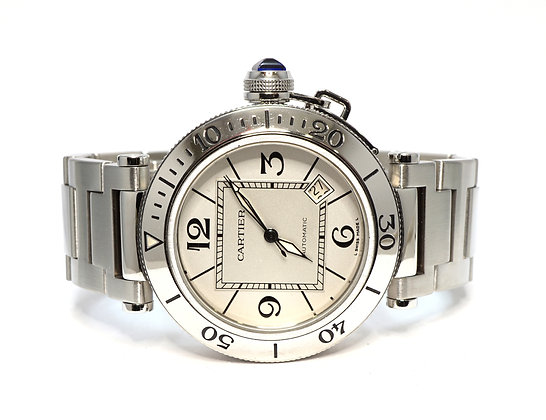 CARTIER Sea Timer, 2790, Automatic, Steel, Boxed