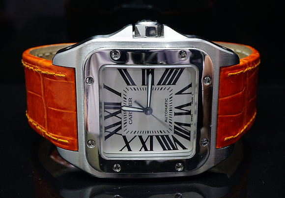 CARTIER Santos 100XL, Steel, 2656, MINT, Boxed