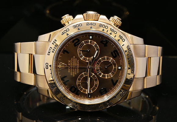ROLEX 2015 Daytona, 18ct Rose Gold, 116505, Box & Papers