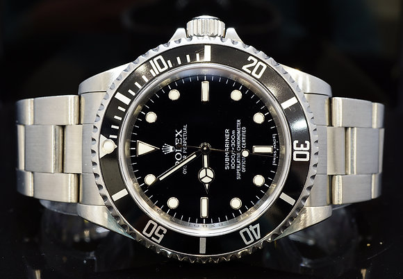 ROLEX 2011 Submariner Non Date, Steel, 14060, MINT, Box & Papers