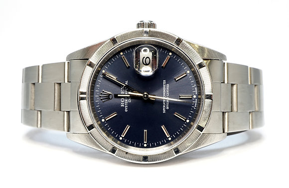 ROLEX 2001 Date 34, 15210, Oyster Perpetual, Box & Papers