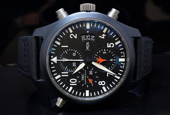 IWC Top Gun Pilots Watch, Special Edition, 2007, Box & Papers
