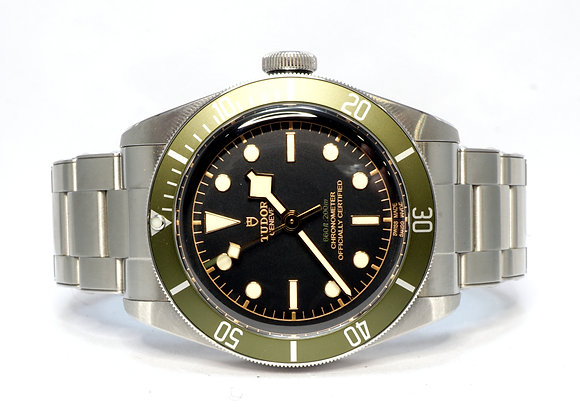 "TUDOR 2020 Black Bay ""Harrods"", 79230G, Box & Papers"