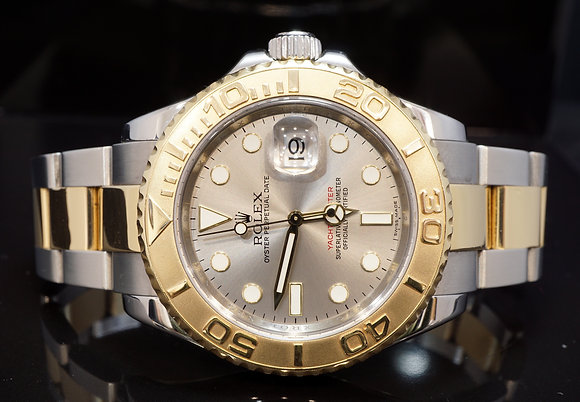 ROLEX 2007 Yacht-Master 40, Steel & Gold, 16623, Boxed