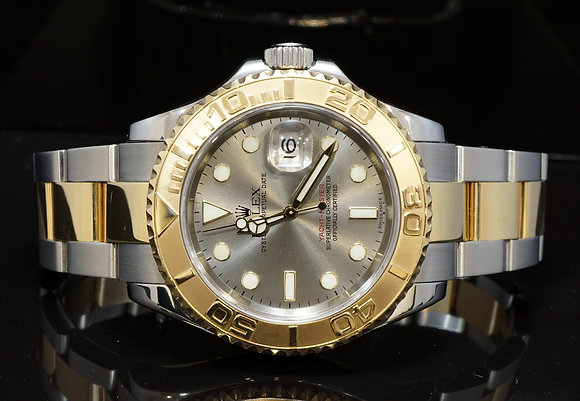 ROLEX 2005 Yacht-Master 40, Steel & Gold, 16623, MINT, Box & Papers