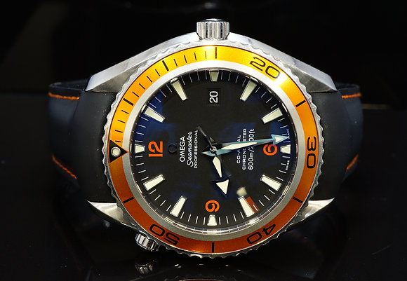OMEGA 2008 45.5mm Planet Ocean 600m, 29085082, Box & Papers