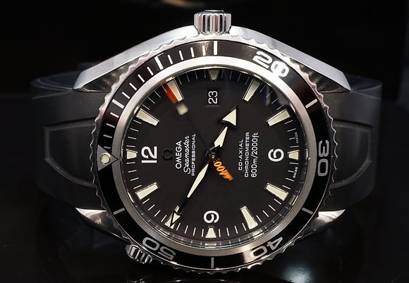 "OMEGA 2006 Planet Ocean, James Bond ""casino Royale"" Ltd Edition, 29075091, B&P"