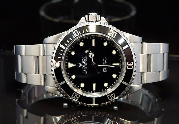 ROLEX 1999 Submariner Non Date, 14060, Steel, Box & Papers