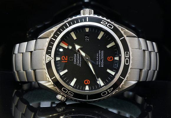OMEGA 45.5mm Seamaster Planet Ocean, 22015100, MINT