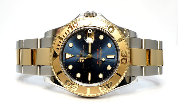 ROLEX 1998 Yacht-Master 35, 68623, Steel & Gold, Box & Papers