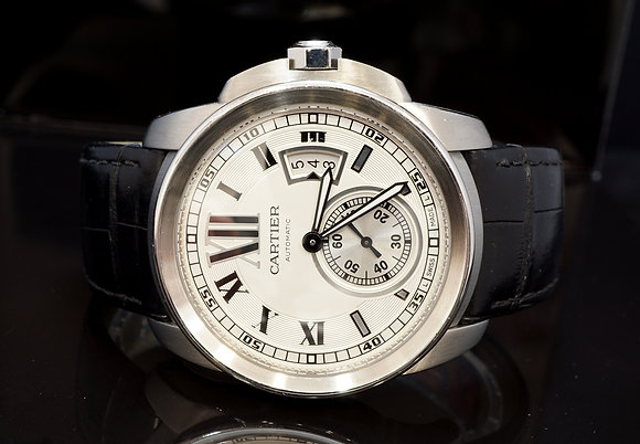 CARTIER 2014 De Calibre, W7100037, Serviced 11/18, Auto, with Papers