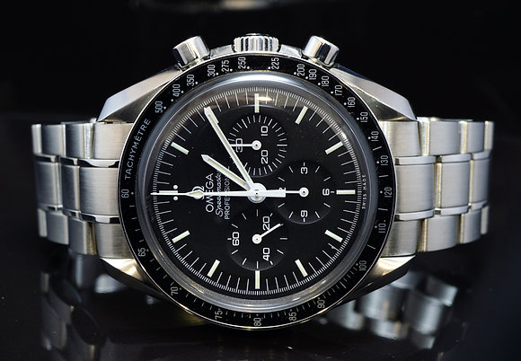 OMEGA 2016 Speedmaster Moon Watch, 31130423001005, MINT, Box & Papers