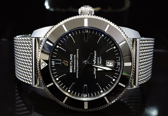 BREITLING 2018 46mm Superocean Heritage II, AB202012, MINT, Box & Papers