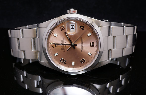 ROLEX Date 2006, 15200, Steel, Box & Papers