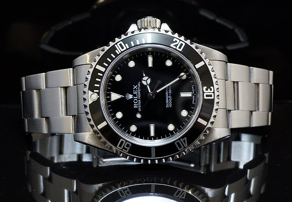 ROLEX Submariner 14060M, 2006, Non Date, Stainless Steel, Box & Papers