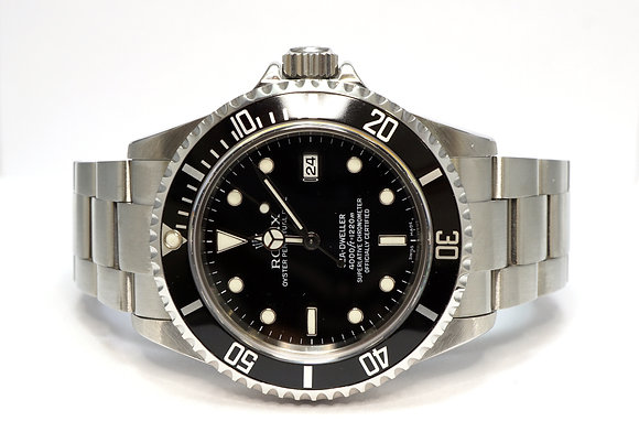 ROLEX 2007 Sea-dweller, 16600, Serviced by Rolex 05/18, MINT, Box & Papers