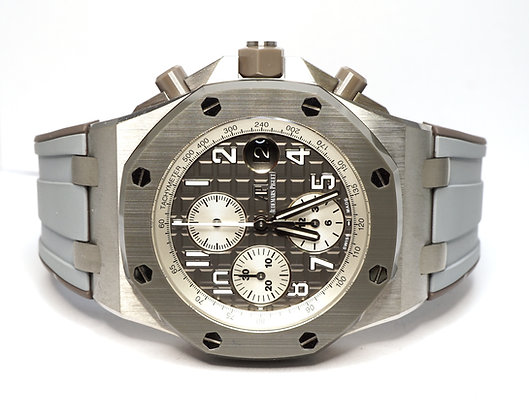 "2018 AUDEMARS PIGUET Royal Oak, 26470IO, Offshore Chrono, ""Ghost"", Box &  Papers"