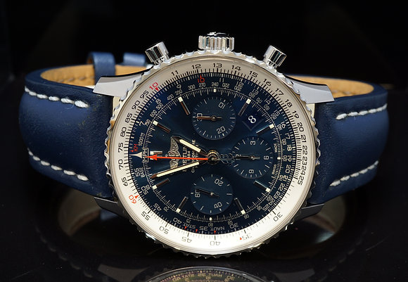 BREITLING 2103 Navitimer Blue Sky Limited Edition, AB12512, UNWORN, Box & Papers