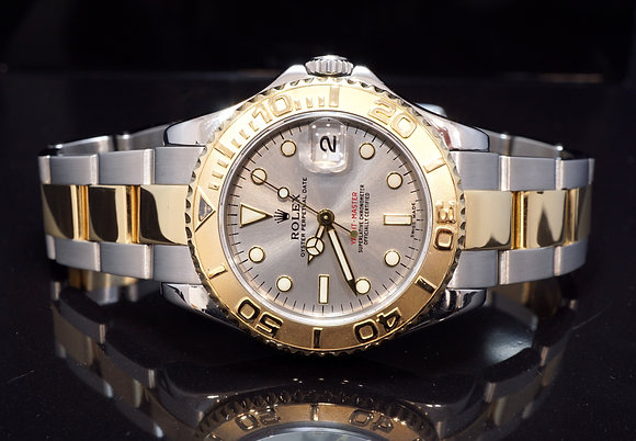 ROLEX 2000 Yacht-Master 35, Steel & Gold, 168623, MINT, Box & Papers