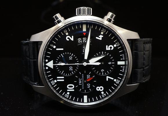 IWC 2015 Spitfire Pilot Chronograph, MINT, Box & Papers