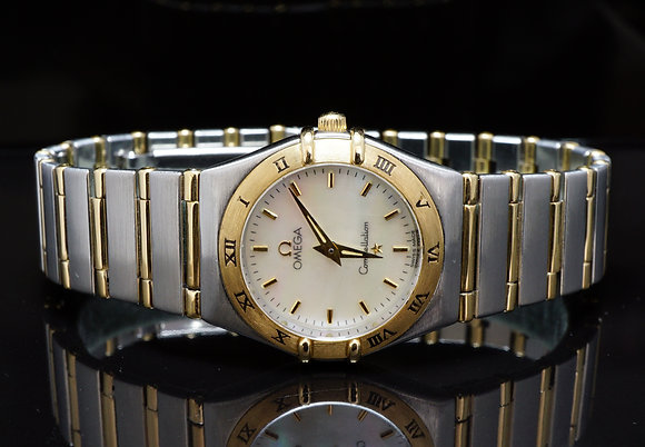 OMEGA 27mm Steel & Gold Constellation, MINT, Boxed