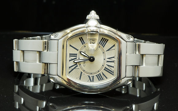 CARTIER Roadster Ladies, W62016V3,  Box & Papers