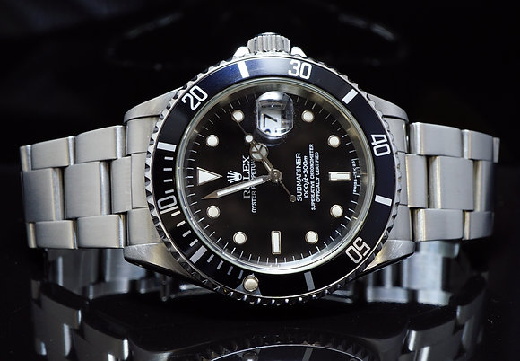 ROLEX 1994 Submariner Date, Steel, MINT, 16610, Boxed
