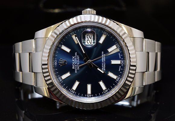 ROLEX 2016 Datejust 2, Steel, 116334, MINT, Box & Papers