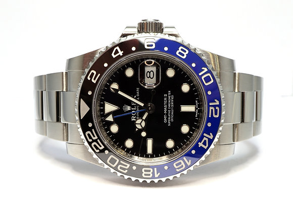 "ROLEX 2016 GMT Master II ""BATMAN"", 116710BLNR, Mint, Box & papers"