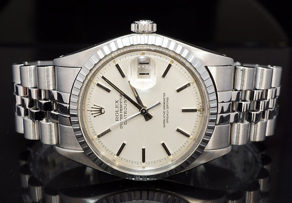 ROLEX 1975 36mm Datejust, 1603, Zephyr Bezel, Pie Pan Dial