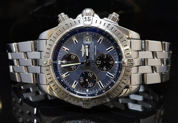 BREITLING 2008 Chronomat Evolution, A13356,  Box & Papers