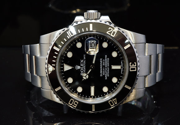 ROLEX 2011 Submariner, Steel, 116610LN, Box & Papers