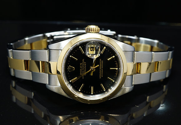 ROLEX 1999 26mm Datejust, Steel & Gold, 79163, Box & Papers