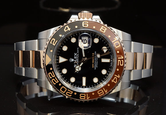 """ROLEX 2020 GMT Master II, """"Rootbeer"""" 126711CHNR, Box & Papers"""