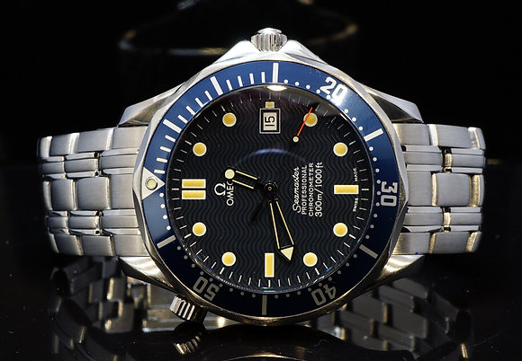 OMEGA 1998 41mm Seamaster, Steel, 2531800, Box & Papers