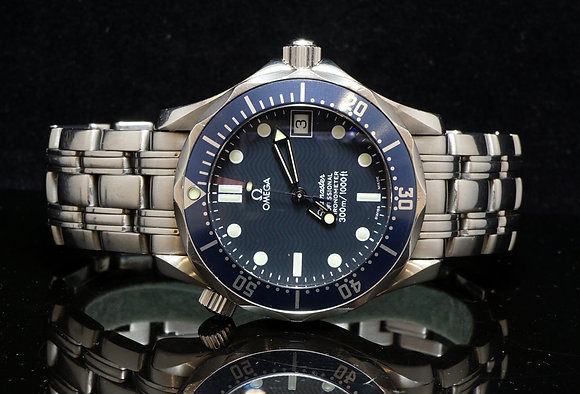 OMEGA Seamaster, 2007, 02551.80, Box & Papers