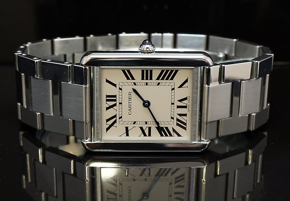 CARTIER Tank Solo, 2014, Box & Papers, W5200014