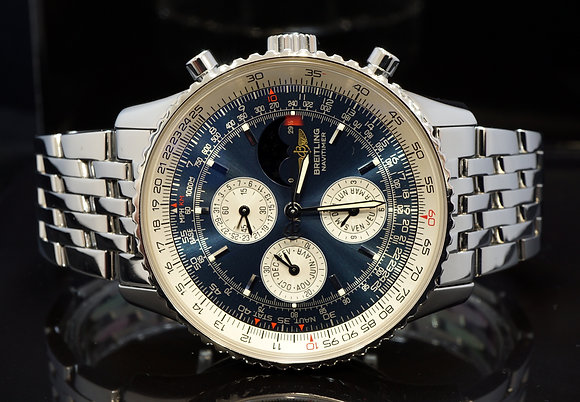 BREITLING 2004 Navitmer Olympus, A19340, MINT, Box & Papers